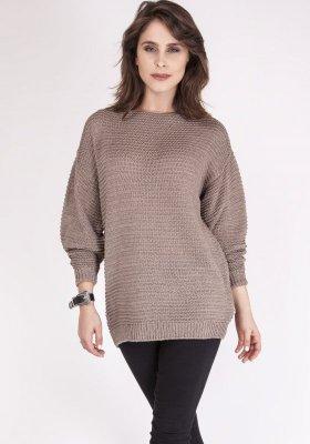 MKM Beatrix SWE 097 Mocca sweter