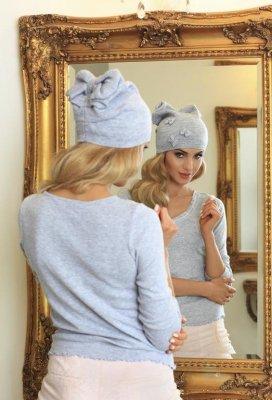 Kamea Renata szara czapka