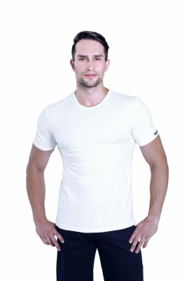 Sesto Senso Cobra biały Koszulka męska