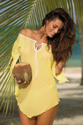 Tunika plażowa Marko Lily M-339 Lime