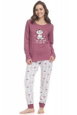 Dn-nightwear PM.9338 piżama damska