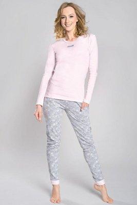 Italian Fashion Milana dł.r. dł.sp piżama damska