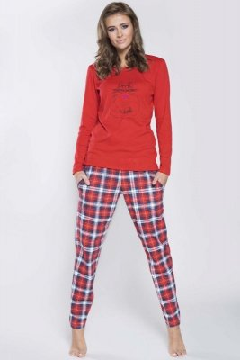Italian Fashion Carmen dł.r. dł.sp. piżama damska