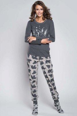 Italian Fashion Arctic dł.r. dł.sp. piżama damska