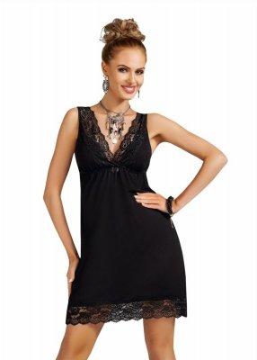 Donna Nadia black Koszula nocna