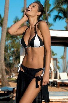 Kostium kąpielowy Marko Amber Nero-Bianco M-260 Czarno-biały (47)