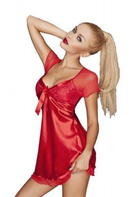 Dkaren Klara czerwona Koszula nocna