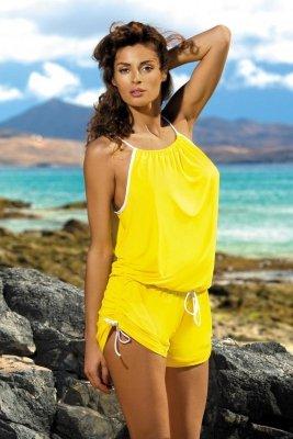 Tunika plażowa Marko Leila Limon M-312 żółta (292)