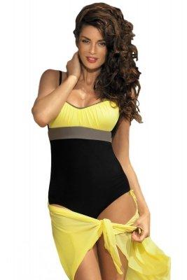 Kostium kąpielowy Marko Whitney Nero-Tweety-Fango M-253 Czarno-żółty (224)