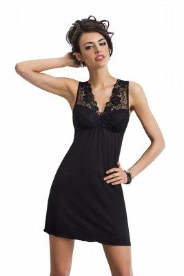 Donna Kristina czarna Koszula nocna