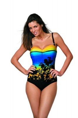 Kostium kąpielowy Marko Ingrid M-381 Nero-Mais