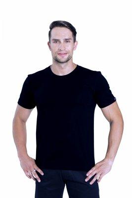 Sesto Senso Cobra czarny Koszulka męska