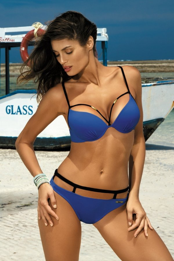 Marko Kostium kąpielowy Nathalie M-391 Royal Blue