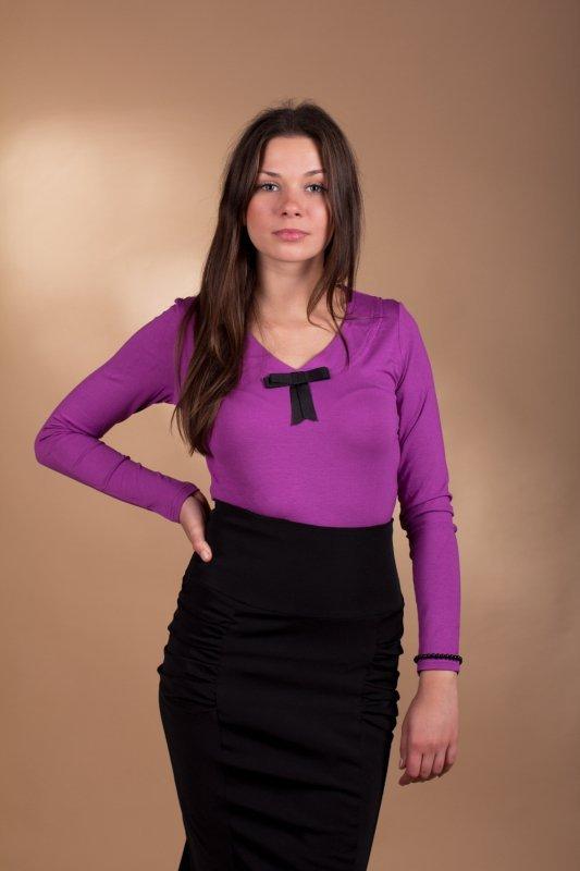 Lookat Isis 3037 fioletowa bluzka damska