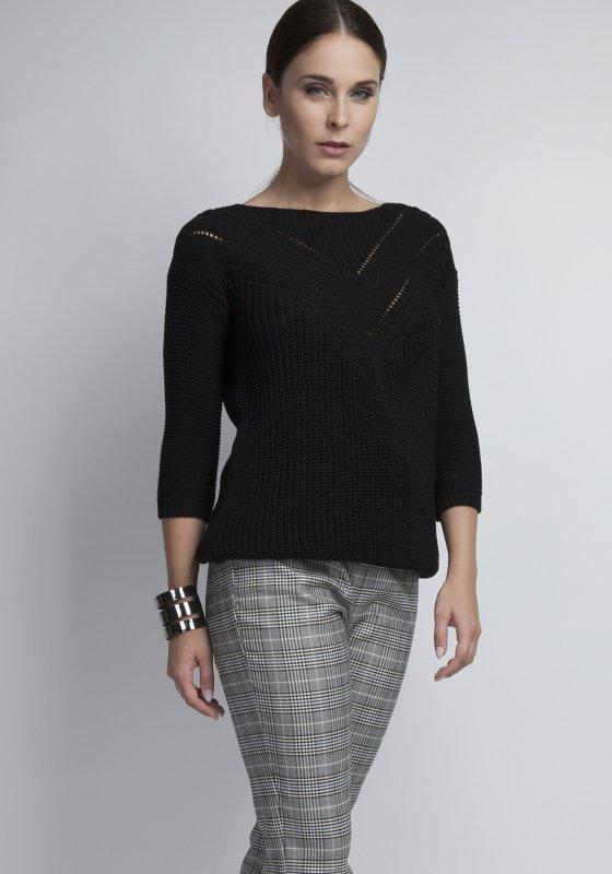 MKM Penny SWE041 czarny sweter