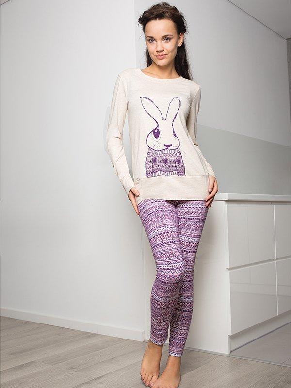Key Bunny LNS 796 B5 piżama damska