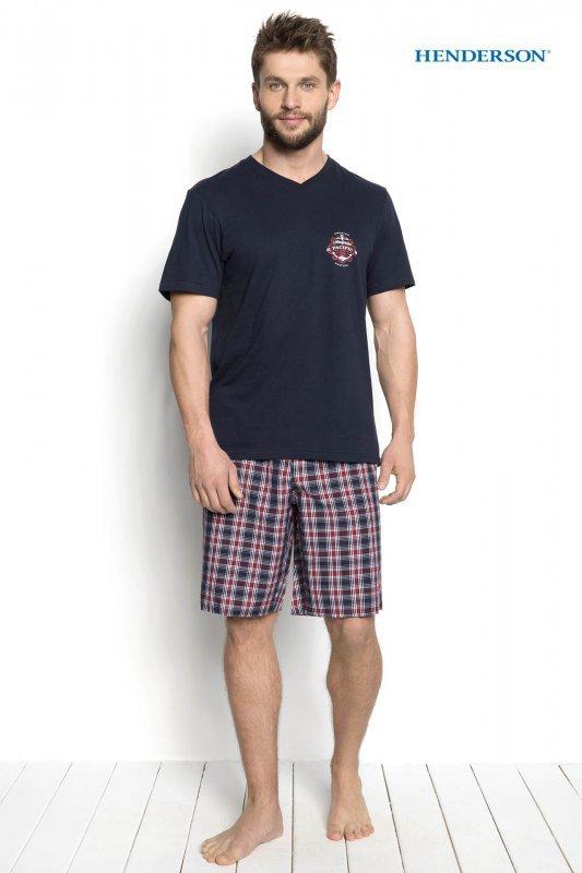 Henderson Dimer 34274-59X Granatowa piżama męska