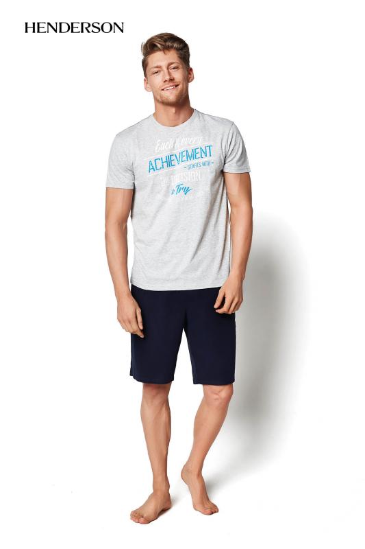 Henderson PJ020 34975-90X Szara piżama męska
