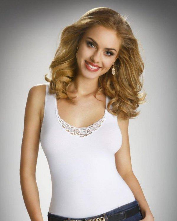 Eldar Mila Biała bluzka damska