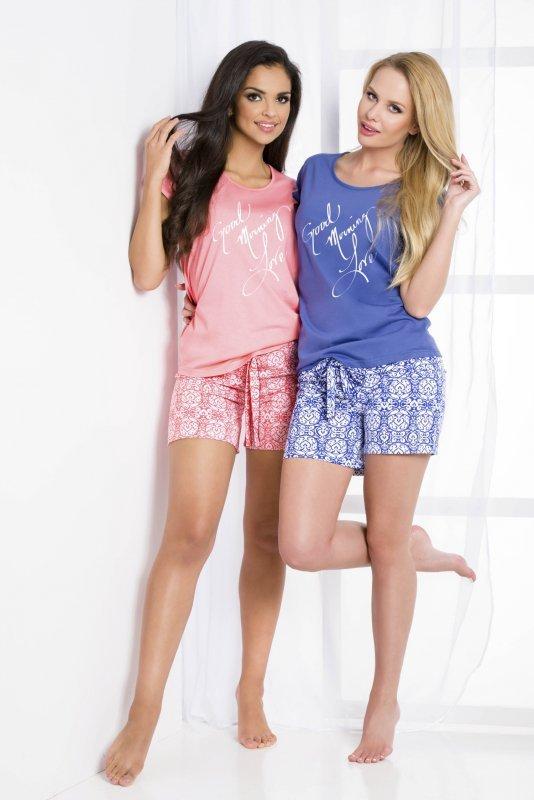 Taro Sonia 2081 K1 Różowa piżama damska