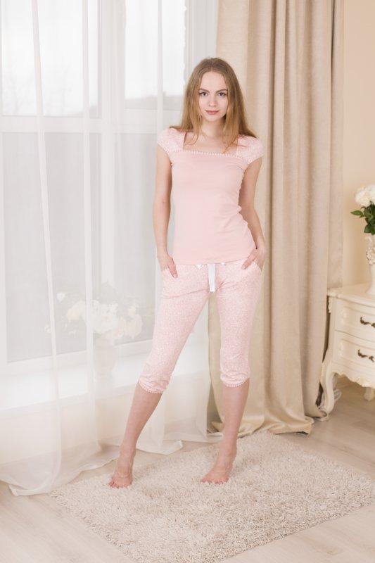 Roksana Charming Pink 503 piżama damska