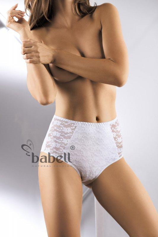 Babell  Lace-Fit BBL 070 Białe figi