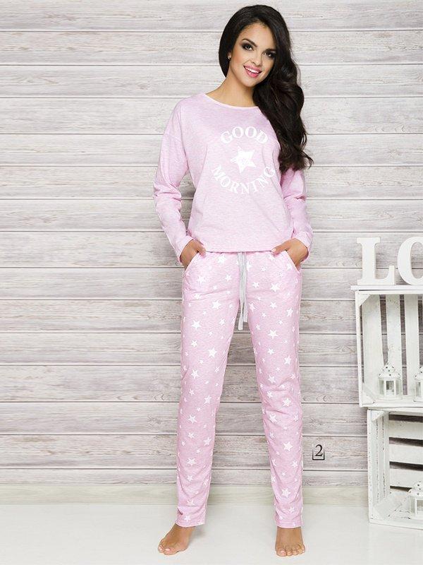 Taro Nadia 1190 K2 Różowa piżama damska