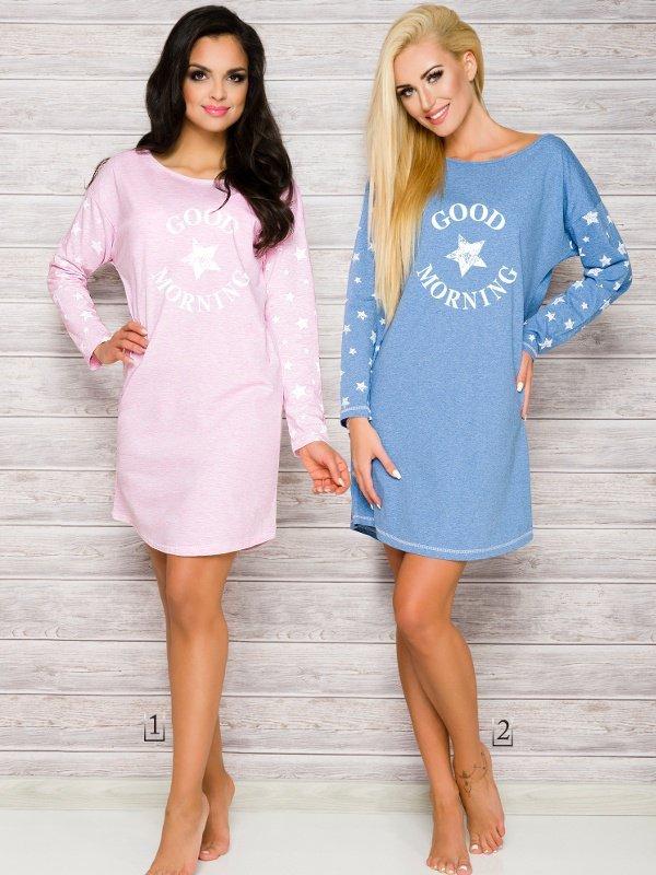 Taro Nadia 2111 AW/17 K1 Różowa koszula nocna