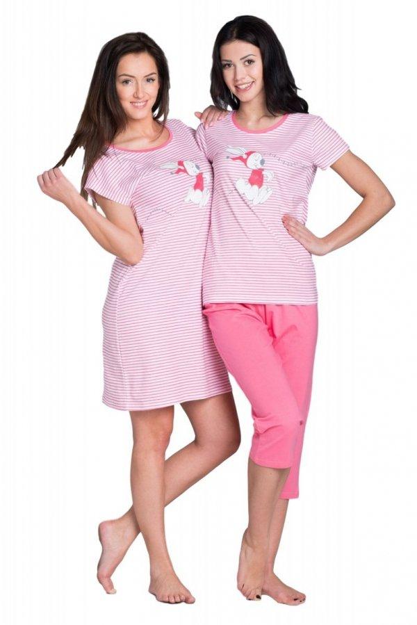 Rossli SAL-PY-036 różowy Piżama damska