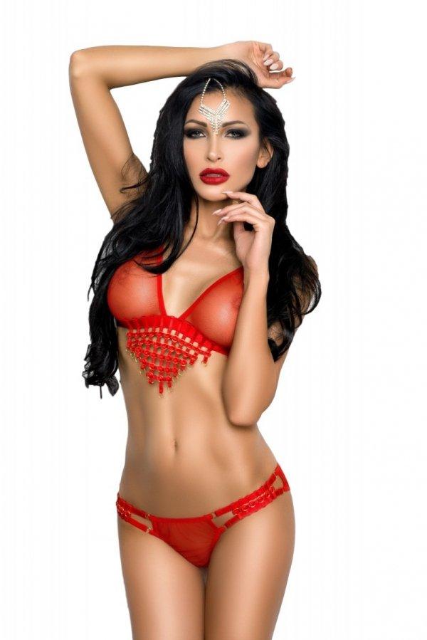 Me Seduce Tiffany Red Komplet