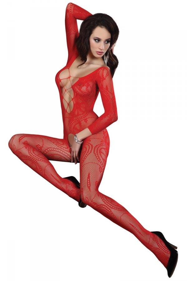 Livia Corsetti Bodystocking Zita red