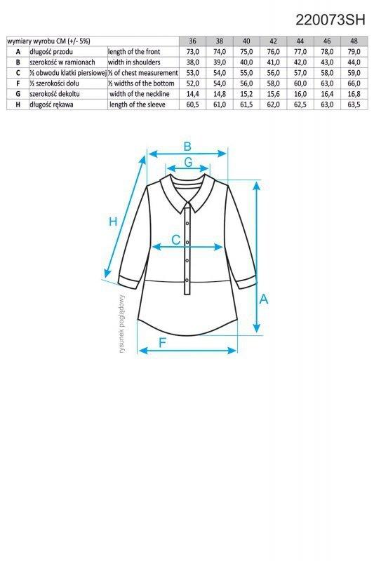 Ennywear 220073 koszula damska