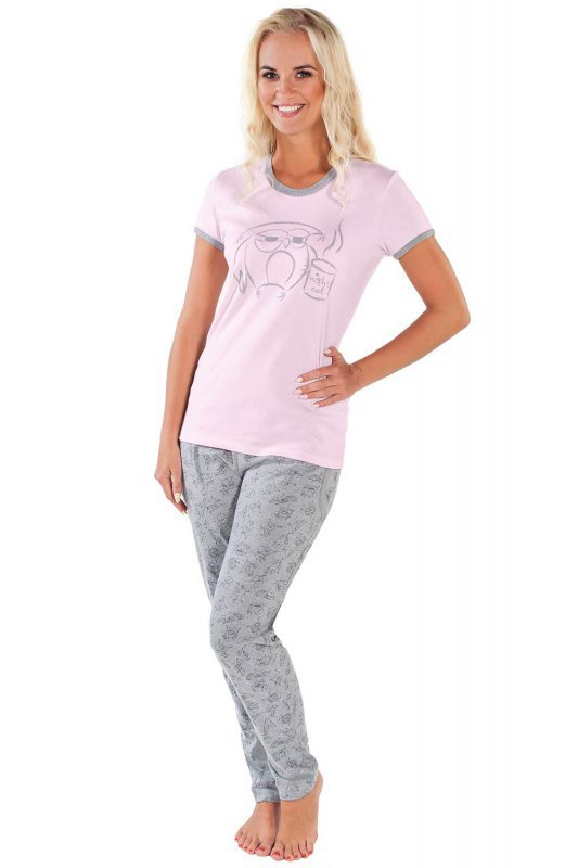 Italian Fashion Ambra kr.r. dł.sp. piżama damska