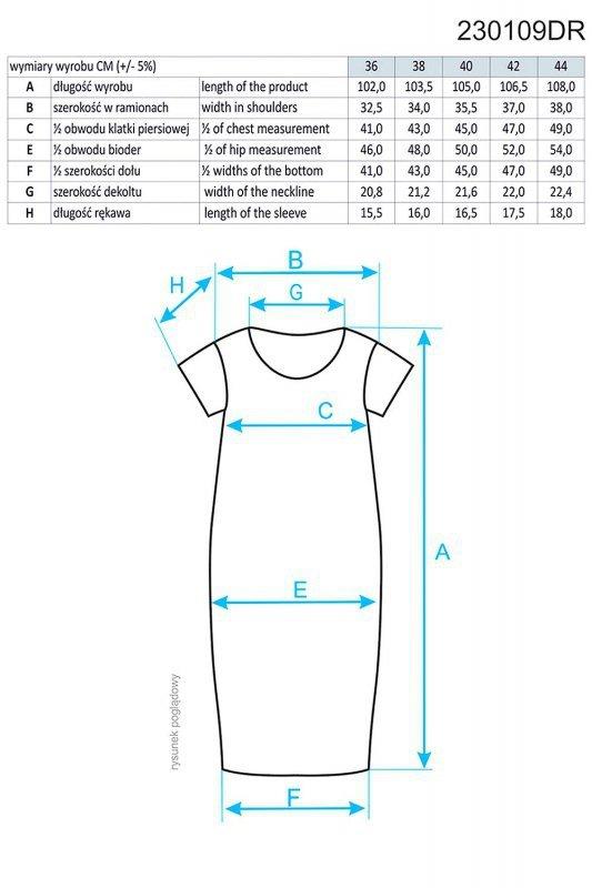Ennywear 230109 sukienka