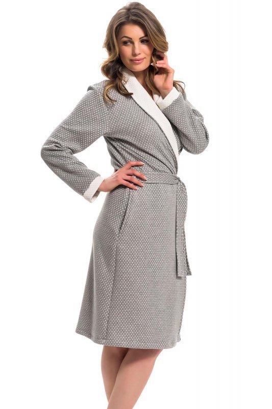 Dn-nightwear SWP.9276 szlafrok damski