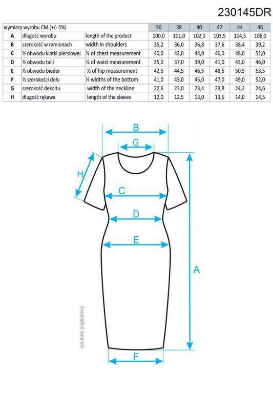 Ennywear 230145 sukienka