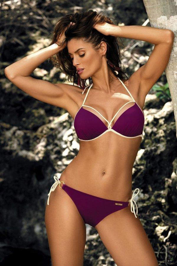 Marko Kostium kąpielowy Beth M-390 Magenta Purple