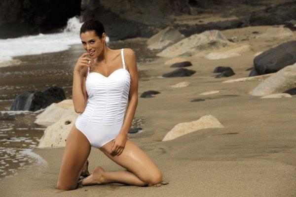 Kostium kąpielowy Marko Fabienne Bianco M-324 biały (133)