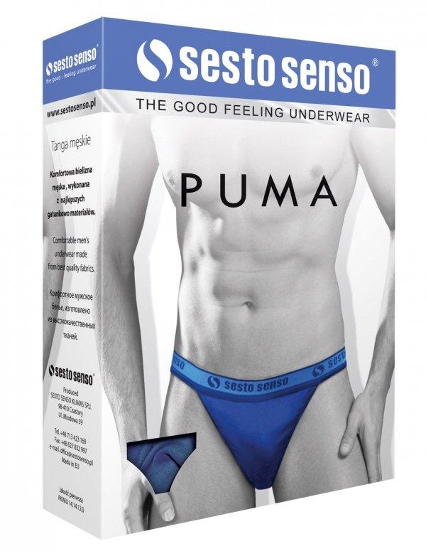 Sesto Senso Puma granat Slipy męskie