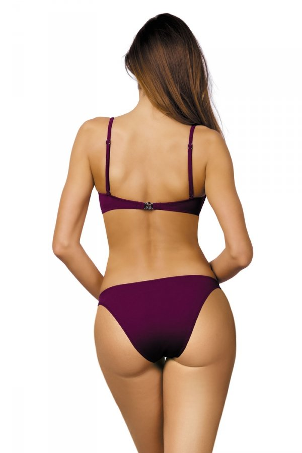 Marko Kostium kąpielowy Brittany M-393 Magenta Purple