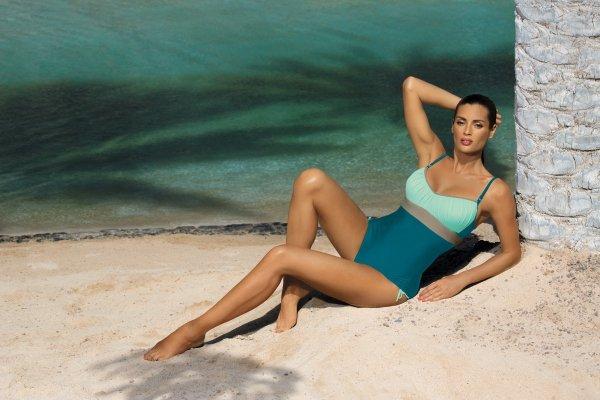Kostium kąpielowy Marko Whitney Curacao-Fata-Fango M-253 Morsko-błękitny (223)