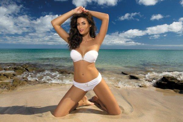 Kostium kąpielowy Marko Shanon Bianco M-323 biały (34)