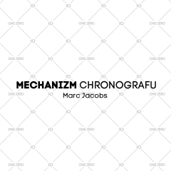 mechanizm z chronografem Marc Jacobs