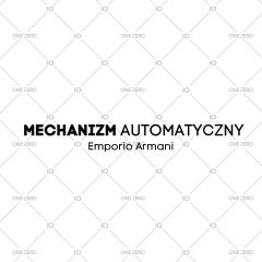 mechanizm automatyczny Emporio Armani