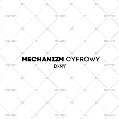 mechanizm cyfrowy DKNY