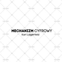 mechanizm cyfrowy Karl Lagerfeld
