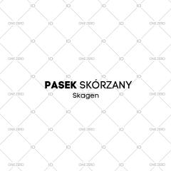 pasek skórzany Skagen