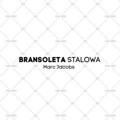 bransoleta stalowa Marc Jacobs