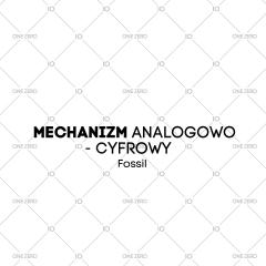 mechanizm analogowo - cyfrowy Fossil