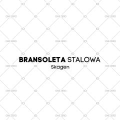 bransoleta stalowa Skagen